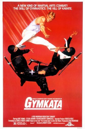 "Gymkata aka ""funniest gymnastics movie ever"""