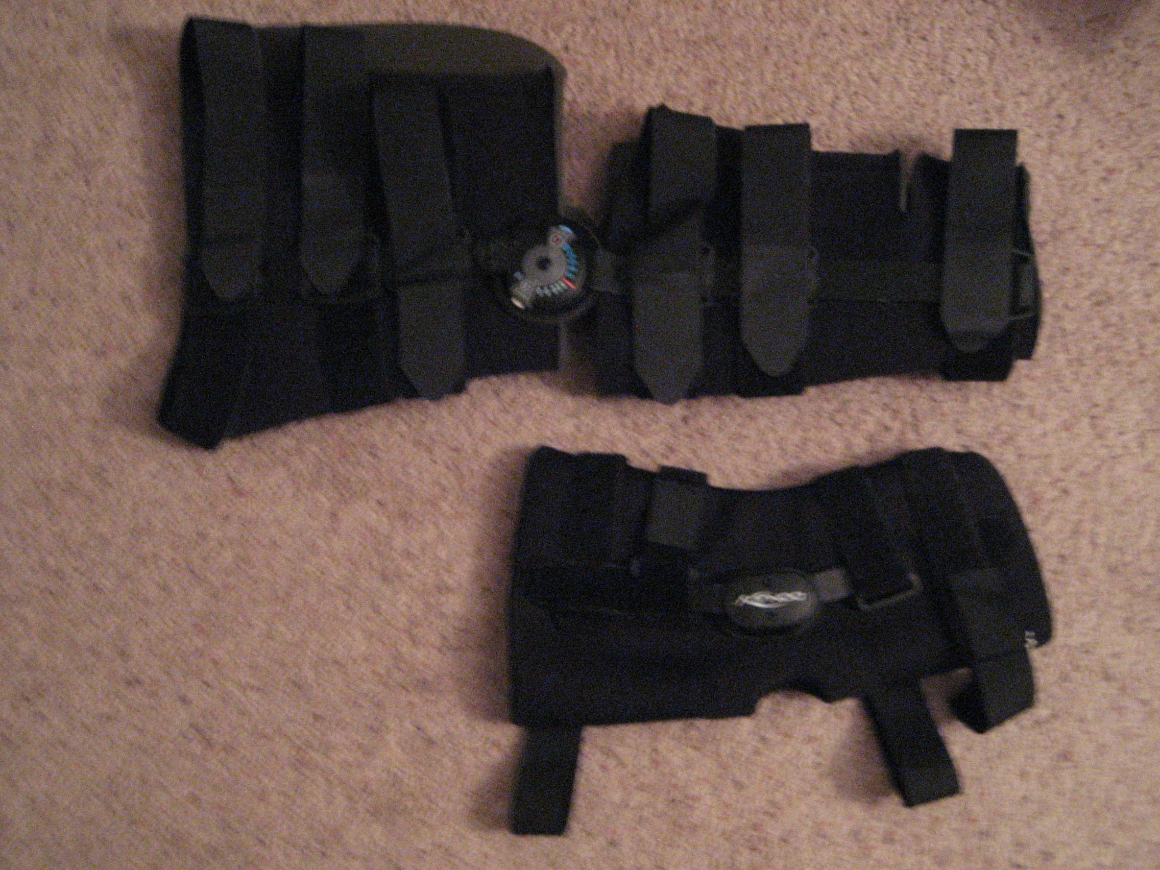leg braces: compared