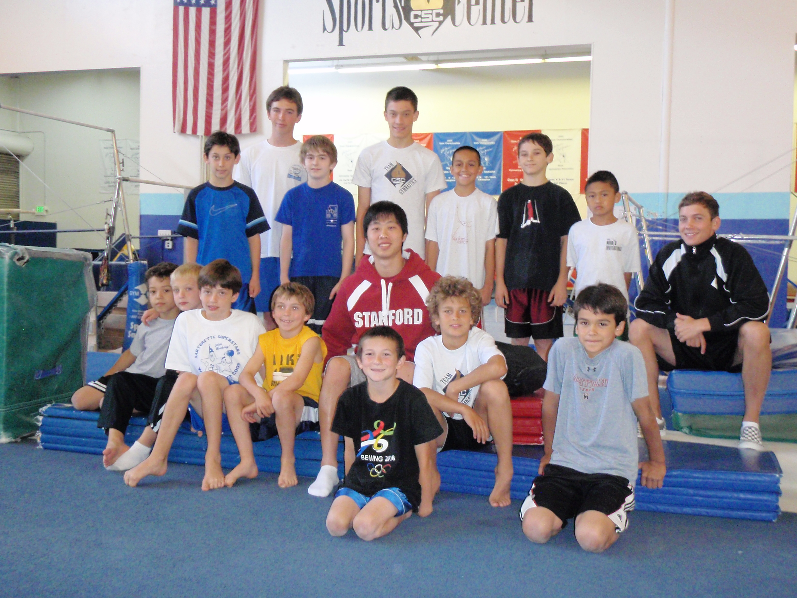 Gymnastics Clinic!